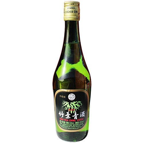 6x500ml Xinghua Chu Yeh Ching Original China Bambus Schnaps Likör 45% vol