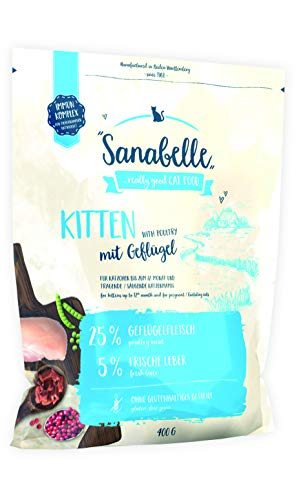 Bosch Sanabelle Kitten | 400g Katzenfutter für Katzenwelpen