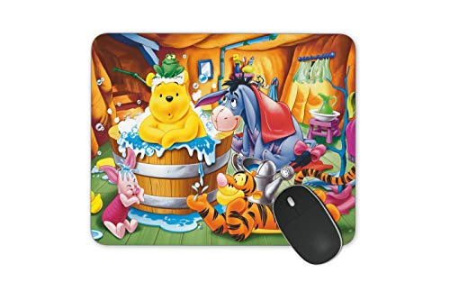 JNKPOAI All Kinds of Cartoon Mouse Pad Disney Mouse Pad Series Anti-Slip Mouse Pad for Office Computer Game Mouse Pad Winnie The Pooh Mouse Pad (Winnie The Pooh)