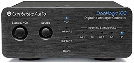 Cambridge Audio DacMagic 100 Digital-to-Analogue Converter (Black)