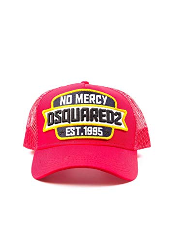 Dsquared 2 No Mercy Baseball Cap in Rot