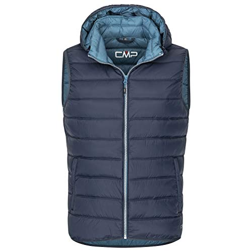 CMP Herren Weste Man Vest Zip Hood 3Z19277 B.Blue-MAIOLICA 50