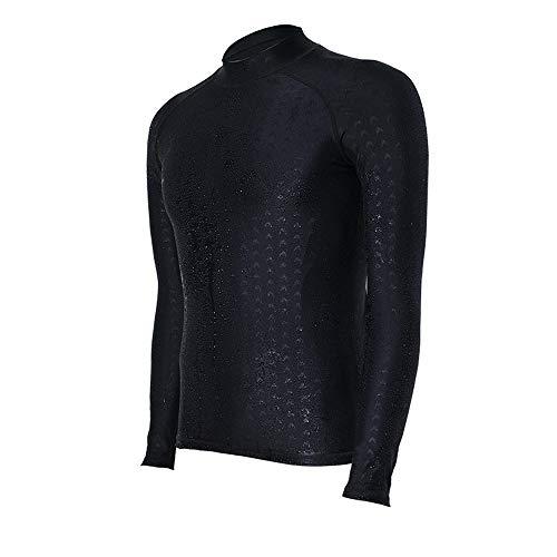 ZXLIFE@@@ Anti-UV-neopreenpak, premium duikpak, surfpak, full-body badpak, voor duiken, snorkelen, surfen, zwemmen, kajakken XX-Large zwart