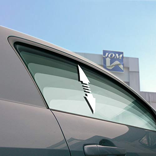 JOM Car Parts & Car Hifi GmbH 7108 Elektrischer Fensterheber-Nachrüstkit, 2- türig