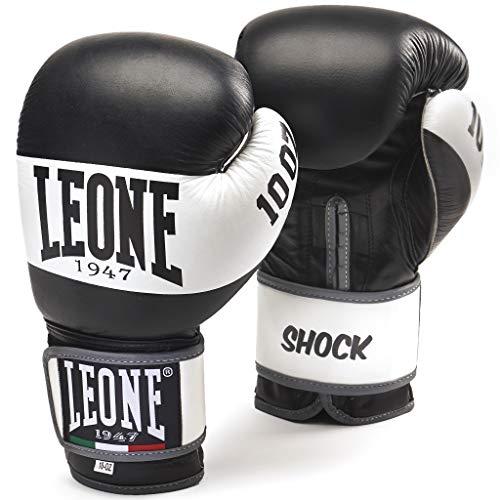 Leone 1947 Shock Guantoni, Nero, 10 Oz