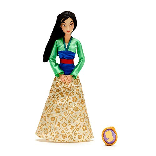 Disney Mulan Classic Doll with Pendant – 11 ½ Inches