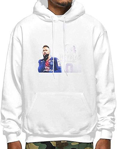 Neymar Jr Outstanding Skills Goals I Men's Polyester Hoodie Pocket Sweater Jackets L