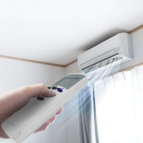 Mando a Distancia de reemplazo para el Control Remoto de Aire Acondicionado LG 6711A20096C Universal para LCD Aire Acondicionado Blanco (Color: Negro)
