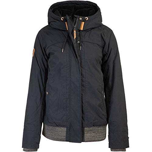 mazine Charlotte Women Jacket Winterjacke (L, Black)