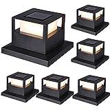 Best Solar Deck Post Lights - MAGGIFT 6 Pack Solar Post Lights, 20 Lumen Review