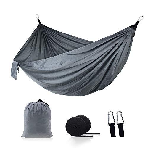 Nouveau Style hamac extérieur Parachute Tissu Nylon Double hamac Charge maximale 300 (kg) 270 * 140 cm