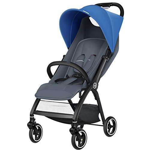 Jiji kinderwagen, licht, om op te zitten en te liggen, opvouwbare paraplu, ultralicht, draagbaar voor baby's in het vliegtuig, kinderwagen