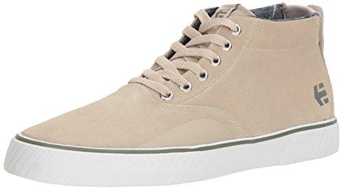 Etnies Men's Jameson Vulc MT Skate Shoe, White/Green/Gum, 10.5 Medium US
