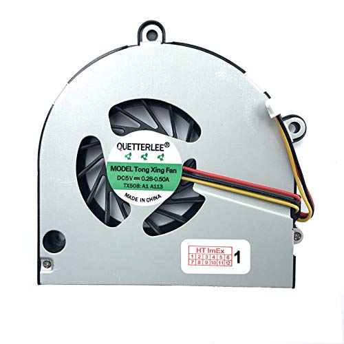 Lüfter/Kühler - Fan komaptibel für Toshiba Satellite C660-17X, C660-1KG, C660-245, C660-2UV, C660-180, C660-1KH, C660-24C, C660-2V5, C660-181, C660-1KJ, C660-24D, C660-2VH