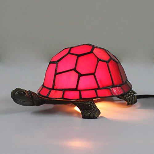 créatif européen tortue tortue rouge Lampe de table Cuckold Lampe de nuit pour enfants