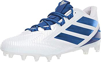 adidas Men's Freak Carbon Low Shoes, White/Collegiate Royal/White, 14 M US