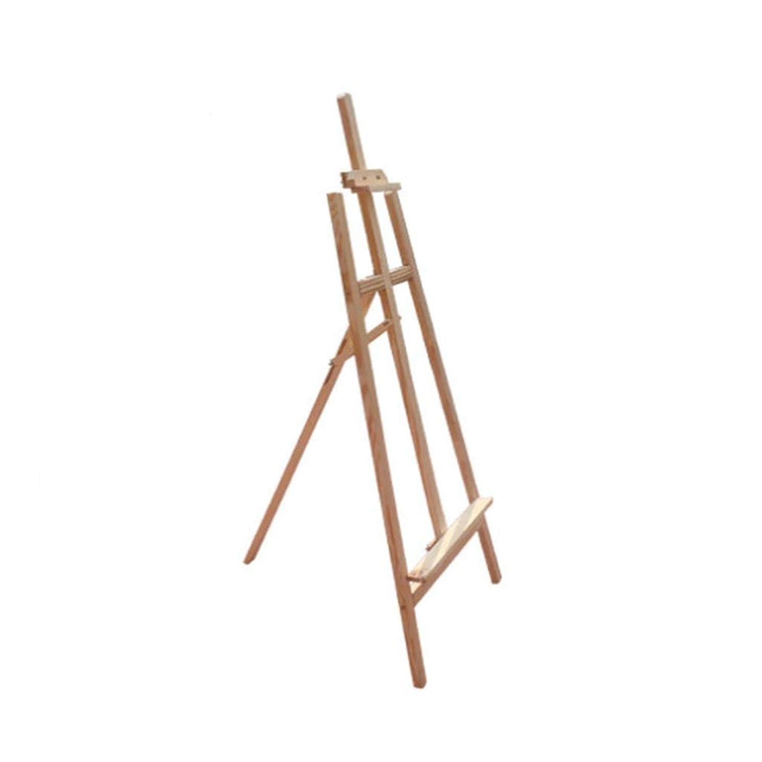 準拠行為脆いイーゼルスタンド-アート ディスプレイスタンドポスターフレーム木製POPイーゼルソリッドウッドディスプレイスタンドKTボード広告スタンド垂直フロアスタンド デスクトップ/床/図面およびディスプレイ用 YUAN MA (Size : 1.7m)