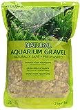 Marina Decorative Aquarium Gravel Natural Desert Pebble, 2 - 4 mm, 2 Kg, Beige