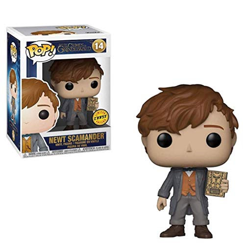 LTY YHP Pop Movie: Fantastic Beasts 2 - The Crimes of Grindelwald - Newt Scamander Action Figure #14 Collectible Toy for Boy 3.9Inch Collection