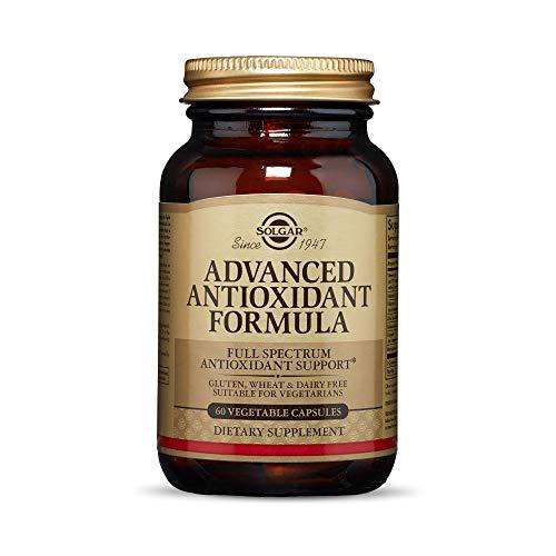 Solgar Advanced Antioxidant Formula 60 Vegetable Caps  Full Spectrum Antioxidant Support  Contains Zinc Vitamin C E amp A  Immune System Support  Vegan Gluten Free Dairy Free  30 Servings