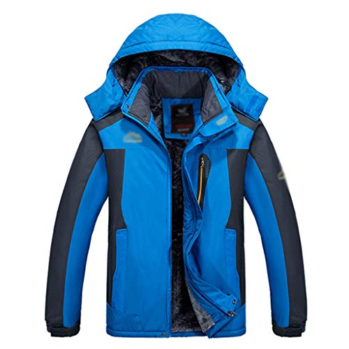 HJHHJHAB mannen waterdichte bergjas warm fleece wandelen jas winddicht 3-in-1 winterjas Thick Breath regenjas ski-jack