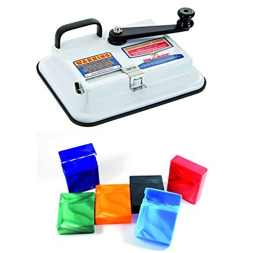 kogu OCB Top O Matic Zigaretten Stopfmaschine, für King Size und 100 mm Zigaretten, inklusive 6 Big Box Zigarettenboxen