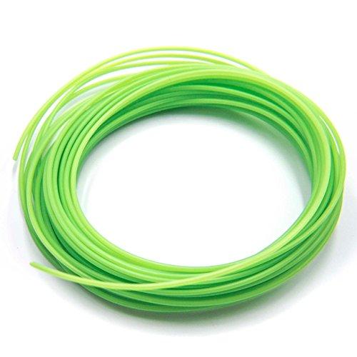 vhbw PLA Filament verde filamento verde 1.75mm diametro 10m per stampante 3D, penna 3D
