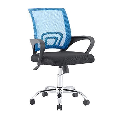 Sedie in rete Sedia da ufficio regolabile in altezza Sedia da ufficio reclinabile Sedie da computer per soggiorno Mobili da ufficio,94 CM