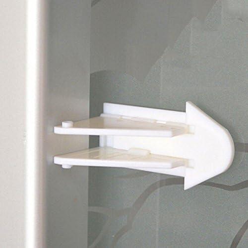 Alamic Adhesive Sliding Door Lock Windows Alternative dealer RV Closet half for Patio