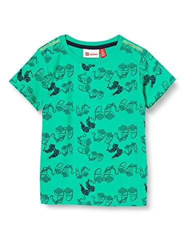 Lego Wear Baby-Jungen Lwtommas T-Shirt, Grün (Green Melange 800), (Herstellergröße:80)