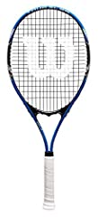 The Tour Slam tennis racket has Volcanic Frame Technology, which provides power and stability, while Stop Shock Pads reduce racquet vibration for great control. Power String bridge Longer main strings of explosive power Stop shock sleeves for improve...