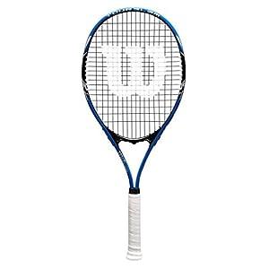 """Wilson Sporting Goods Tour Slam Tennis Racquet (EA) , 4 3/8"""", Blue"""