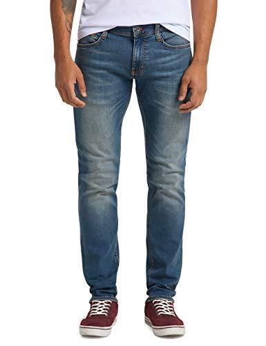 MUSTANG Herren Slim Fit Oregon Tapered Jeans, Blau, 34W / 32L