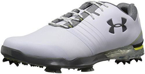 Under Armour Herren UA Match Play Golfschuhe, Weiß (White 101), 42 EU