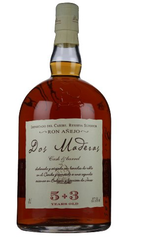 Dos Maderas Dos Maderas 5+3 Years Old Ron Añejo 37,5% Vol. 3l - 3000 ml