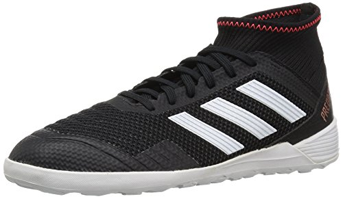 adidas Unisex Predator Tango 18.3 in Soccer Shoe, core Black/White/Solar red, 6.5 M US Big Kid