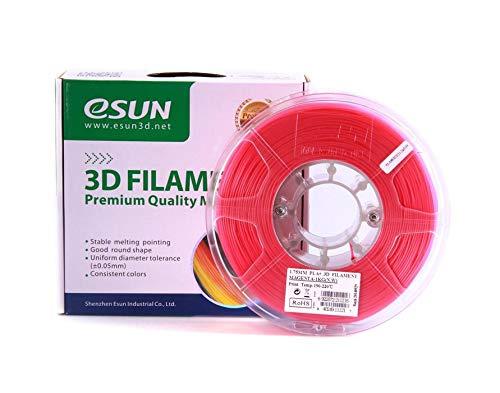 eSUN - Filamento PLAPlus, magenta, 1kg