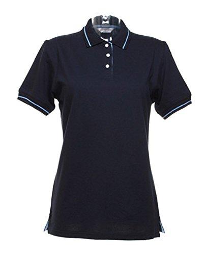 Kustom Kit Desire Clothing Uni à manches courtes Polo de tennis pour homme - Bleu - 44