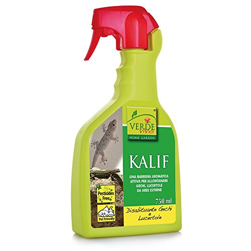 VERDE VIVO Kalif disabituante per gechi e lucertole kollant 750ml, Multicolore, Unica