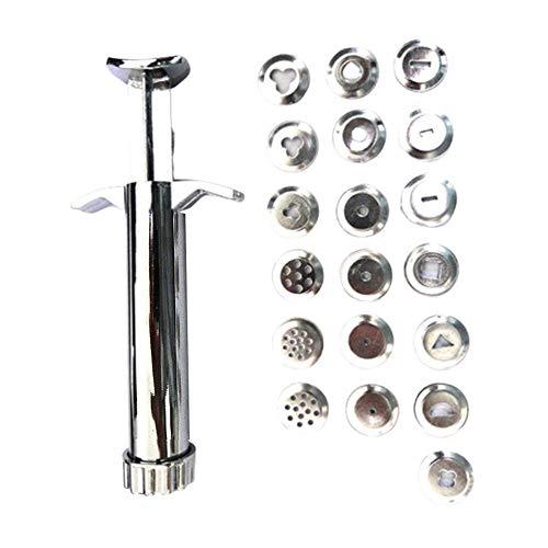 LQKYWNA - Juego de herramientas para extrusor de cerámica, herramientas de acero inoxidable, juguetes para escultura de arcilla polimérica