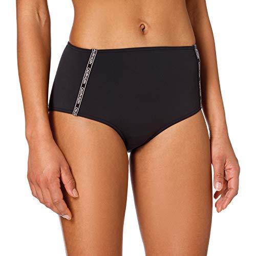Calvin Klein High Waist Bikini Bragas, Pvh Negro, M para Mujer