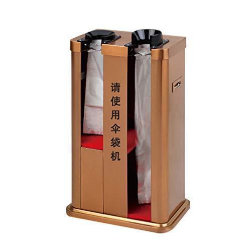Jinxin-schirmständer Regenschirm-Maschinen-automatischer Edelstahl-Doppelkopf-Regenschirm-Satz-Maschinengeschäft-Versammlungsraum-Regenschirm-Stand (Farbe : B)