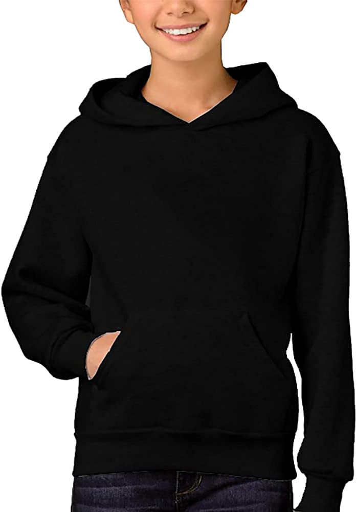 Remimi Kids Pullover Hoodie with Pocket Cute Sweatshirt for Boys Girl 5-14 Years