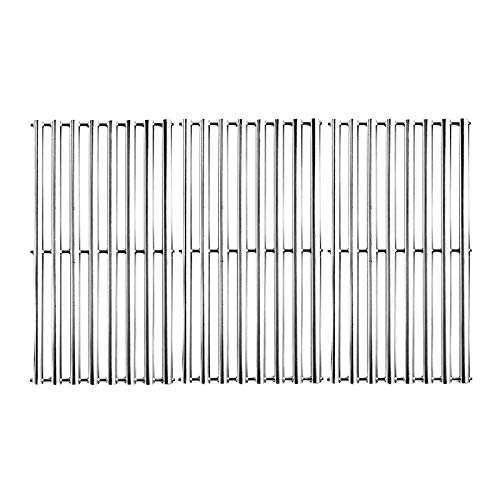 Stainless Steel Cooking Grid Grates Replacement for Charbroil 463433016, 463461615, 463436215, 463420508, Kenmore 463420507, Master Chef 85-3100-2, 85-3101-0, G43205, T480 (16-7/8' x 27-15/16')