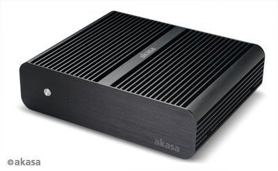 Akasa Euler - Ultra Small Form Factor - Mini-ITX, AK-ITX05BK