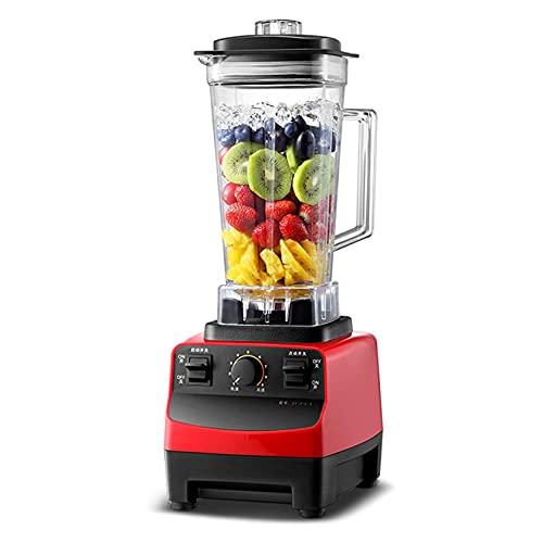 N/Z Living Equipment, licuadora eléctrica Comercial de Gran Capacidad, licuadora, licuadora, para Tiendas de té con Leche, restaurantes, Bebidas, cafeterías