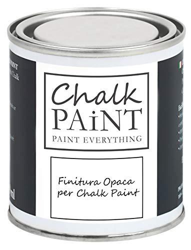FINITURA per Chalk Paint FINISH PROTETTIVO TRASPARENTE OPACO Extra Resistente - Proteggi il tuo lavoro (250 ml)