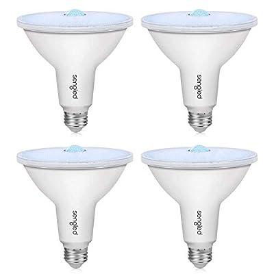 Sengled Motion Sensor Outdoor Light Dusk to Dawn Light Bulbs, LED Flood Lights Outdoor, Security Light E26 PAR38 Motion Activated 5000K Daylight, 1050LM, Waterproof, 4 Pack 4rd Gen