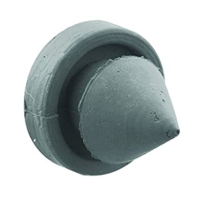 Sentry Supply 658-1055 Door Silencers, 1/2 in, Rubber, Gray, Used on Metal Jambs, Pack of 100