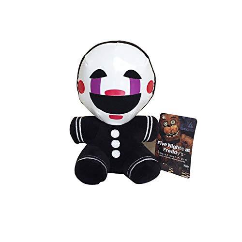 letaowl Peluches Doudou 18cm FNAF Five Nights at Freddy 4 Nightmare Freddy Clown Marionette Peluche Jouets en Peluche Poupée Peluche Cadeaux pour Enfants Enfants
